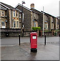 ST2096 : Queen Elizabeth II pillarbox on a Newbridge corner by Jaggery