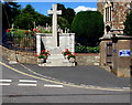 SX9984 : Lympstone War Memorial by Jaggery