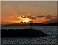 NS2056 : Largs Yacht Haven (marina entrance) : Week 51
