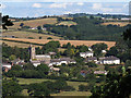 SX8189 : Dunsford village from Bridford Wood by Stephen Craven