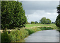 SJ5646 : Llangollen Canal north-east of Marbury, Cheshire by Roger  Kidd