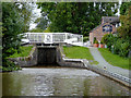 SJ5345 : Willeymoor Lock north-east of Grindley Brook, Cheshire by Roger  Kidd