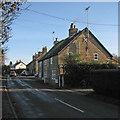 TL4265 : Westwick: Oakington Road in December by John Sutton