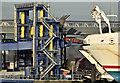 "J3678 : ""Stena Superfast VII"" loading, Belfast (December 2016) by Albert Bridge"