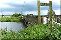 TF5404 : Morton's Bridge crossing the Middle Level Main Drain by Mat Fascione
