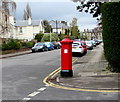SO9321 : Grade II listed pillarbox on a Cheltenham corner by Jaggery
