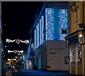 SS5533 : Illuminations in Barnstaple High Street : Week 52