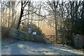 SK2578 : Sunshine and Frost at Hay Woods, Derbyshire by Andrew Tryon