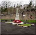 ST2391 : Risca War Memorial by Jaggery