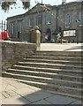 SX0766 : Mount Folly Square, Bodmin by Derek Harper