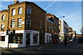 TQ2886 : Looking up York Rise from Chetwynd Road, Kentish Town by Christopher Hilton