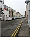 SN1300 : West along Warren Street, Tenby by Jaggery