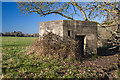 SU1515 : WWII Hampshire - Ringwood Stop Line, Avon Valley - Fordingbridge anti-tank island (26) by Mike Searle