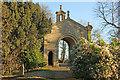 ST7367 : Lansdown Cemetery Portico by Richard Croft