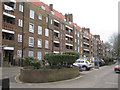 TQ3376 : North side of Bentley House, Glebe Estate, Camberwell, south London by Robin Stott