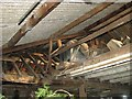 TG2909 : Old galvanised steel water tank by Evelyn Simak