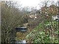 SE3901 : The site of Tingle Bridge Lock by Christine Johnstone
