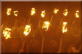 HU4741 : Torchlight procession - Up Helly Aa by Stephen McKay