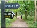 SP8505 : The Ridgeway by Colin Smith