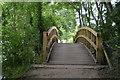 SU8485 : Footbridge, Thames Path by N Chadwick