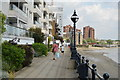TQ2676 : Thames Path, Chelsea Harbour by N Chadwick