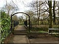 SK9136 : Entrance to Wyndham Park by Alan Murray-Rust