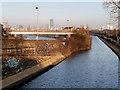 SJ8196 : Bridgewater Canal, Pomona Strand by David Dixon