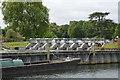 SU8384 : Temple Lock Sluice by N Chadwick