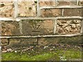 SK5836 : Displaced bench mark, Kingston Road, West Bridgford by Alan Murray-Rust