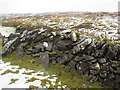 G7445 : Dry Stone Wall on Benbulben by louise price