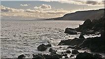 NH7965 : Coast at McFarquhar's Bed by Julian Paren