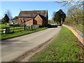 SP2346 : Roadside barn by Philip Halling