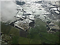NS7368 : Former Glenmavis gas storage site from the air by Thomas Nugent