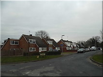 SP9542 : Walk House Close, Cranfield by David Howard