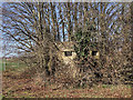SU4517 : WWII Hampshire - Southampton Airport pillbox no. 2 (7) by Mike Searle
