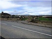 NO2507 : Falkland Cemetery by Bill Kasman