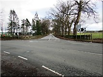 NO2507 : B936 Falkland to Dunshalt road by Bill Kasman