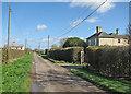 TL2642 : Kirby's Manor Farm by John Sutton