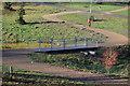 TQ5940 : Hilbert Bridge by N Chadwick