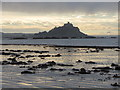 SW4931 : St Michael's Mount from Long Rock by Gareth James
