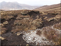 NH3151 : Peat hags aside the Strathconon to Glen Orrin path by Julian Paren