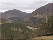 NH2953 : Looking down on Strathconon by Julian Paren