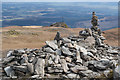 NN5609 : Cairn at the summit on Ben Ledi : Week 14