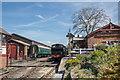 TQ8833 : Tenterden Station, Kent by Christine Matthews