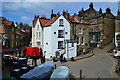 NZ9504 : Bottom of New Road, Robin Hood's Bay : Week 16