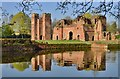 SK5204 : Kirby Muxloe Castle by Michael Garlick