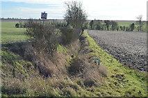 TL3958 : Drainage ditch by N Chadwick