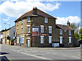 TQ8166 : The Railway, Rainham (closed) by Robin Webster