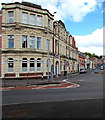 ST1368 : Cadoxton Conservative Club & Institute, Vere Street, Barry  by Jaggery