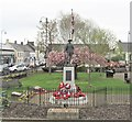 J4569 : War Memorial at Comber by Eric Jones